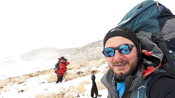 Denizlili dağcılar İran'ın en yüksek zirvesi Demavend'de