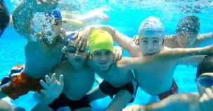 Denizlili çocukların yaz  keyfi
