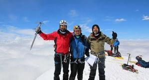 Denizlili dağcılar Gürcistan'da zirveye çıktı