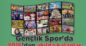 Gençlik Spor'da 2016'dan akılda kalanlar