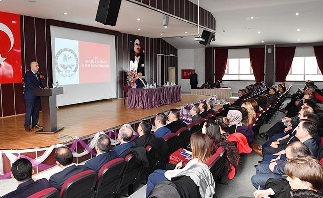 2018-2019 Eğitim Öğretim Yılı 1. Dönem Değerlendirme Toplantısı yapıldı