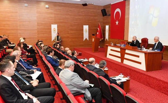 2019 Yılı 1. Dönem İl Koordinasyon Kurulu Toplantısı yapıldı