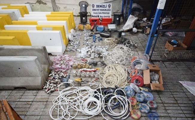 26 inşaattan malzeme çalan hırsızlar yakalandı