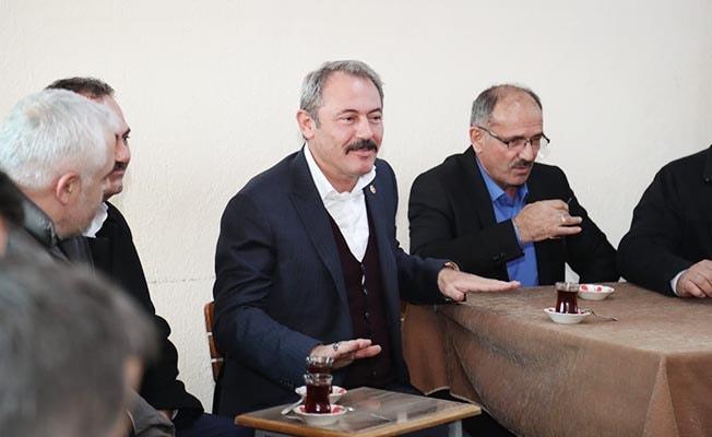 AK Partili Şahin Tin, Serinhisar'da iddialı konuştu