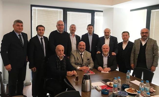Ali Fırat, 1. Lig Kulüpler Birliği toplantısına katıldı
