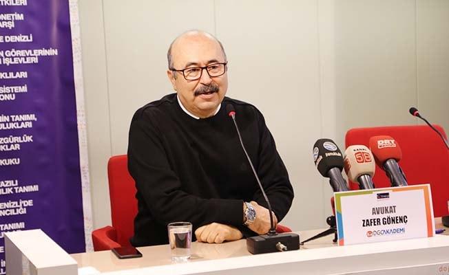 Av. Gönenç, gazetecilere haklarını hatırlattı