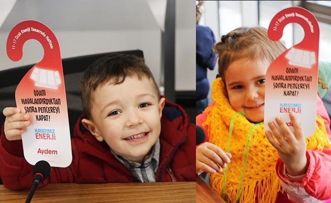 Aydem'den Çocuklara 'Enerji Tasarrufu' semineri