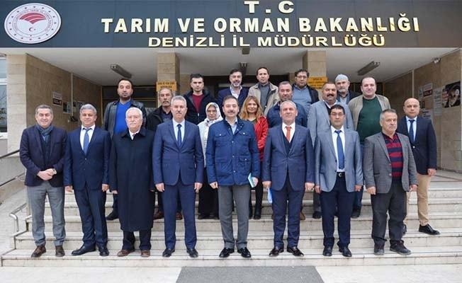 Balıkçılık ve Su Ürünleri Genel Müdürü Dr. Atalay Denizli'yi ziyaret etti