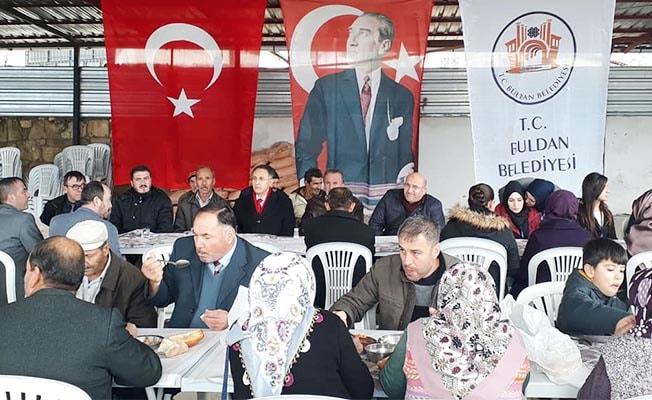 Buldan'da 'İsraf Son Bulsun' sofrası