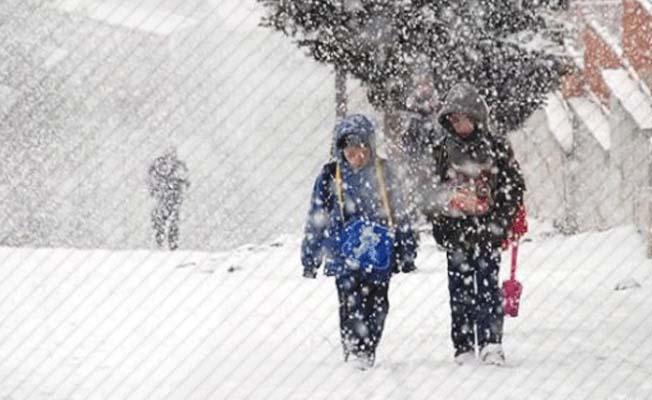3 ilçede daha okullara kar tatili