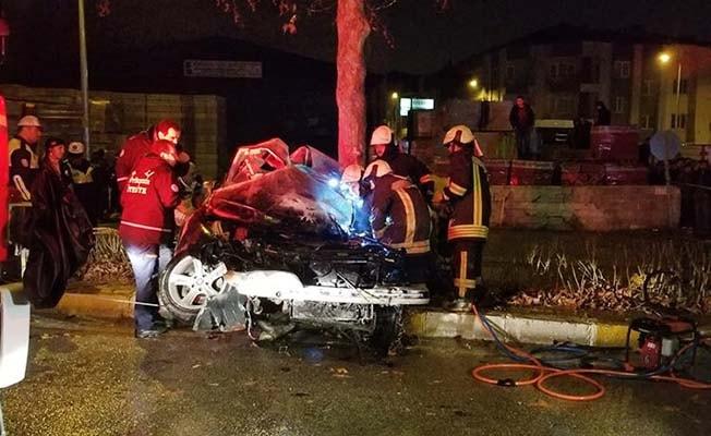 Denizli'de kaza: 1 ölü 3 yaralı