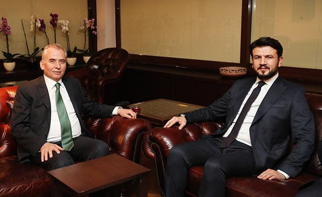 Ege Bölge Koordinatörü Çelebi'den Başkan Zolan'a ziyaret