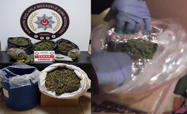Emniyet'in yılın ilk haftasındaki uyuşturucu operasyonlarında 4 tutuklama