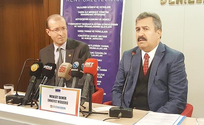 Emniyet Müdürü Demir DGC Akademi'ye konuk oldu