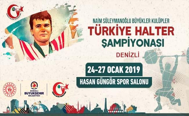 Halter Türkiye Şampiyonası için Denizli'de geri sayım başladı