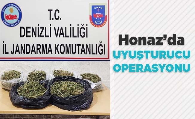 Honaz'da uyuşturucu operasyonu: 1 tutuklama