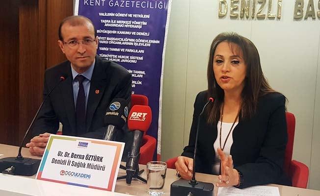 İl Sağlık Müdürü Öztürk, DGC AKADEMİ'ye konuk oldu