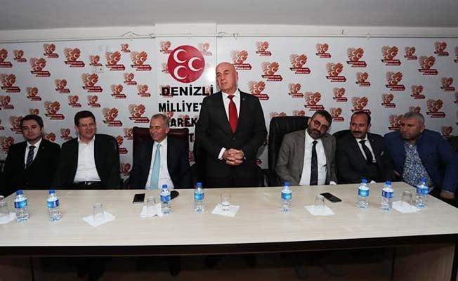 """MHP İl Başkanı Birtürk: """"Denizli'de 20'de 20 yapılacak!"""""""