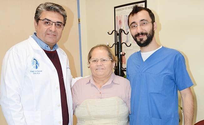Morbid Obez hastasının 3 kalp damarı başarıyla değiştirildi