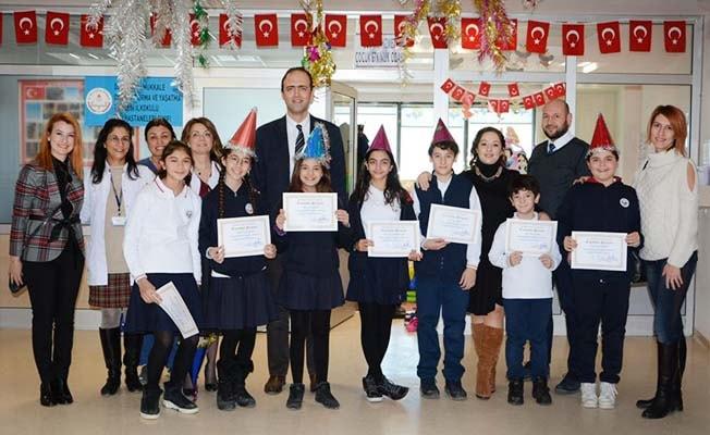 ODTÜ'lü örencilerden hasta çocuklara yeni yıl morali