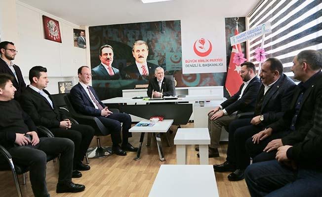 Örki'den BBP'ye ziyaret