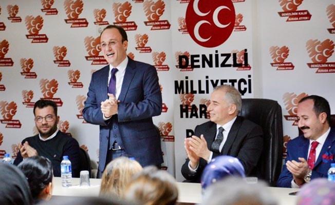 """Örki; """"Pamukkale'de rekor oy alarak iki Reisimizi de gururlandıracağız"""""""