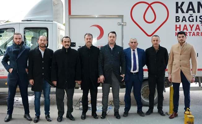 Ülkü Ocaklarından Kök hücre bağışı kampanyasına destek