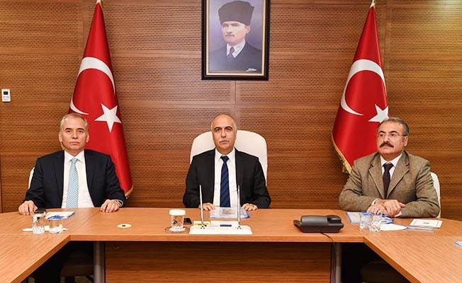 Valilikte Seçim Güvenliği Toplantısı yapıldı