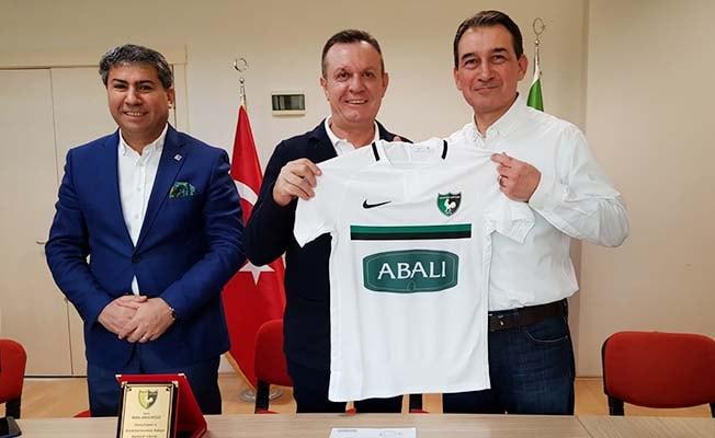 Abalıoğlu, Denizlispor'a sponsor oldu