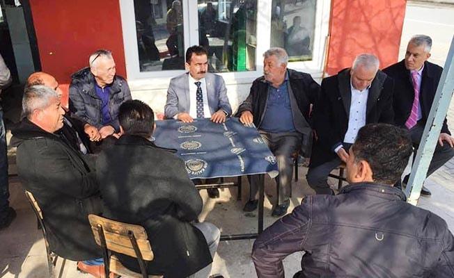 """Ahmet Divarcı: """"Her mahalleye eşit hizmet götüreceğiz"""""""