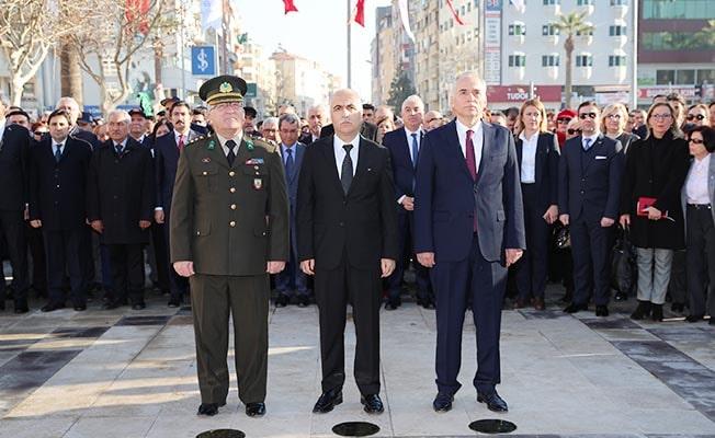 Büyük Önder Atatürk'ün Denizli'ye gelişinin 88. yılı törenlerle anıldı