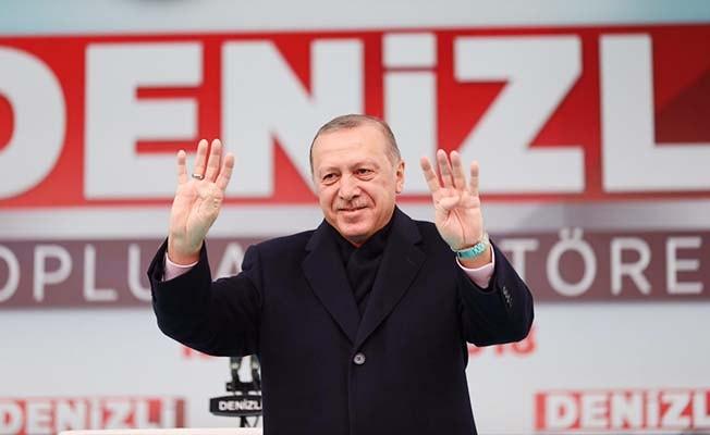 Cumhurbaşkanı Denizli'ye geliyor