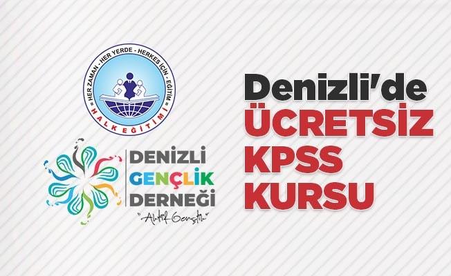 Denizli'de ücretsiz KPSS kursu