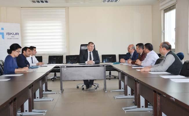 Denizli İŞKUR'da MBRD toplantısı