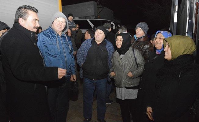 Divarcı, EYT mağdurlarıyla Ankara'da