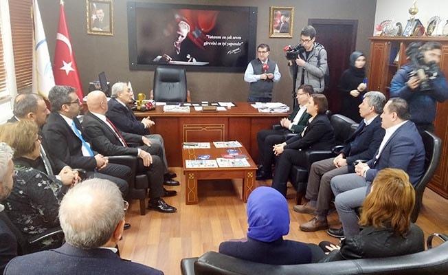"""MHP İl Başkanı Cafer Birtürk: """"AKP'li, MHP'li aday yok, sadece ittifak var"""""""