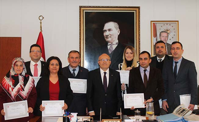 Pamukkale İlçe Tüketici Hakem Heyeti'ne takdir belgesi