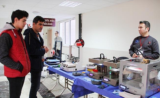 Tekstil, 3D yazıcı ile tanıştı