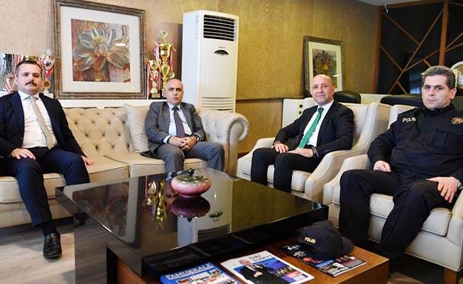 Vali Karahan Sarayköy'ü ziyaret etti