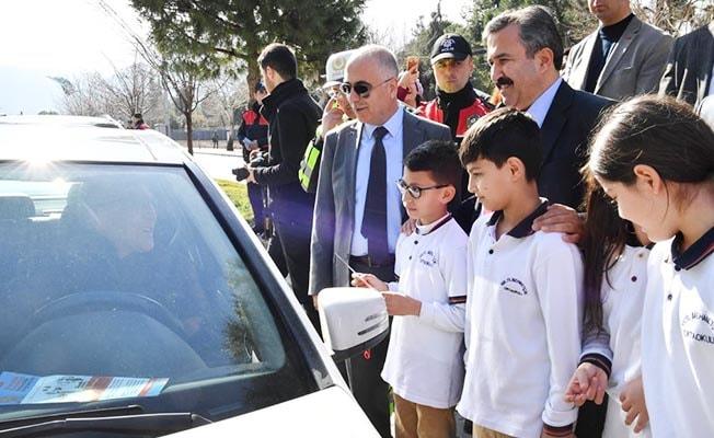 'Yaya Öncelikli Trafik Yılı' etkinlikleri Denizli'de de başladı