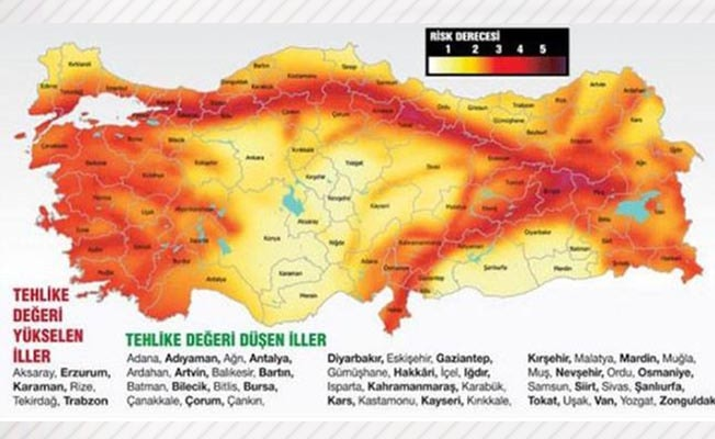 23 yıl sonra deprem haritası değişti!