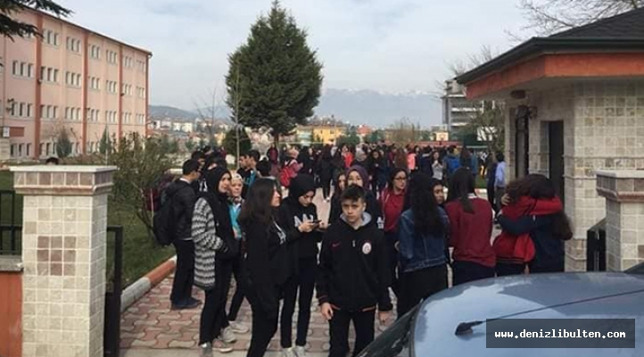 Acıpayam'da deprem nedeniyle okullar yine tatil edildi