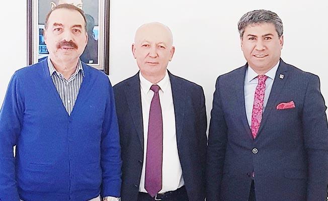 Altay maçında forma sırt sponsoru Ata Tekstil oldu