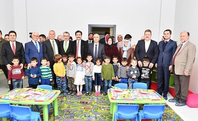 Aynur – Feza Başer Anaokulu törenle açıldı