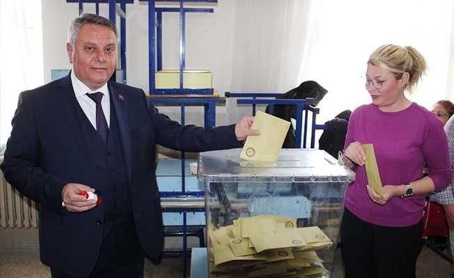 """Bahtiyar; """"Seçim sonuçları kentimize ve ülkemize hayırlı olsun"""""""