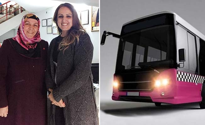 Başkan Adayı Aktaş'tan 'Pembe otobüs' projesi