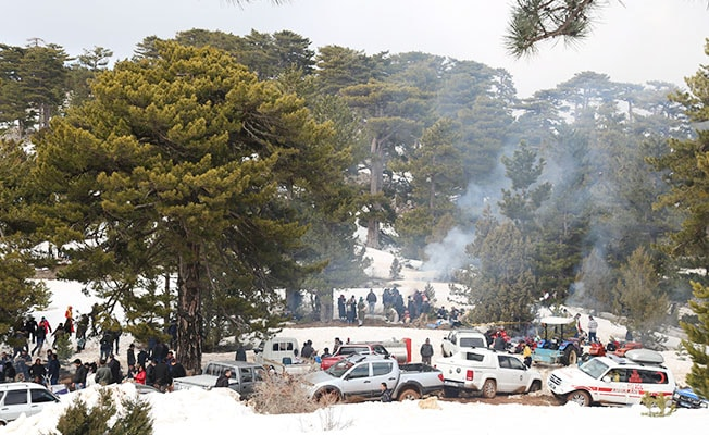 Çameli'de kar şenliği renkli geçti