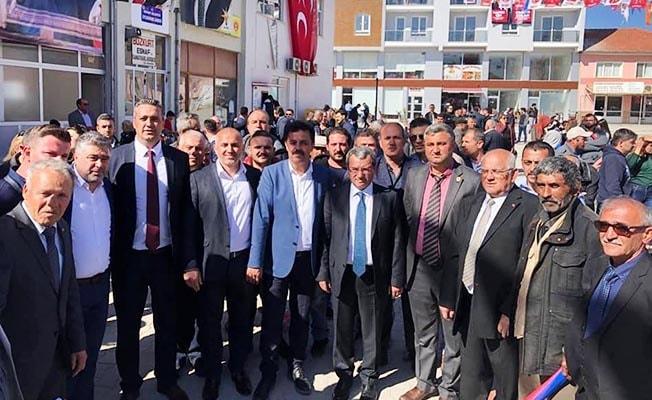 Cumhur İttifakı Bozkurt'ta gövde gösterisi yaptı