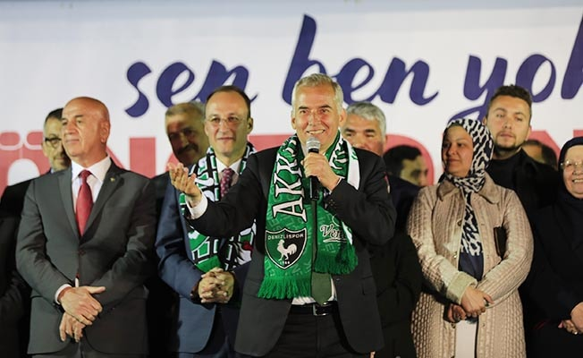 Denizli kazan, Başkan Osman Zolan kepçe