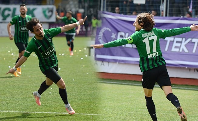 Denizlispor Afyon'da kazandı: 1- 3
